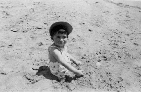 Eduardo, Pie de la Cuesta, Acapulo. Abril 1953